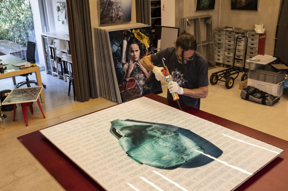Framing the big prints