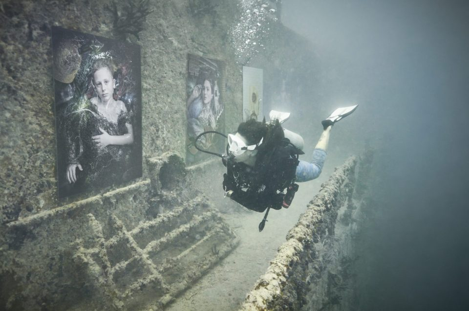 Impressions from the Vandenberg underwater gallery