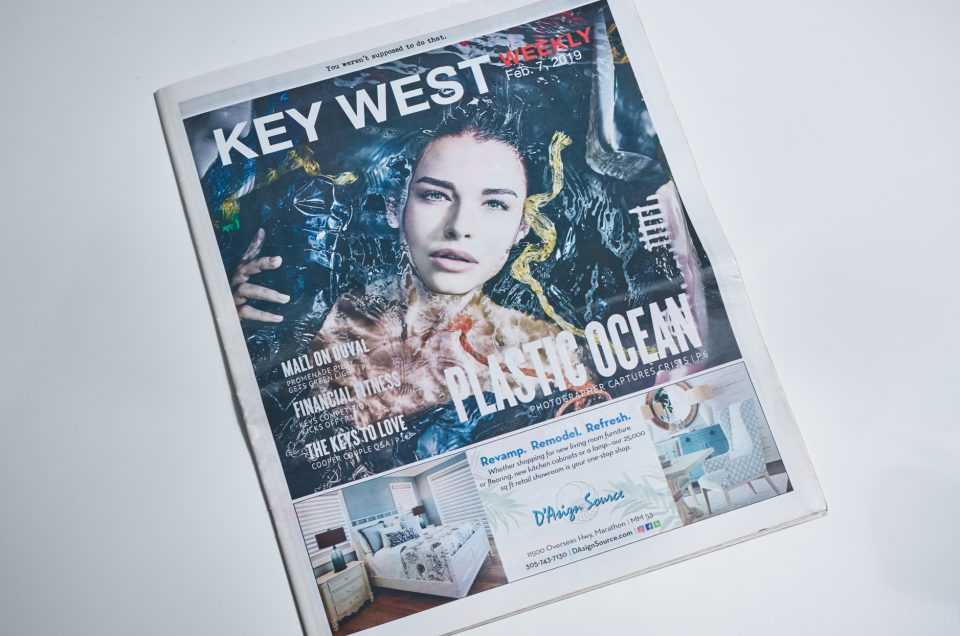 "PLASTIC OCEAN in ""Key West Weekly"""
